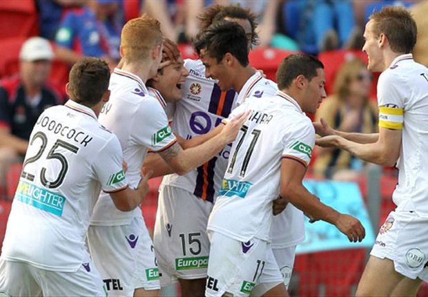 Newcastle Jets 0-1 Perth Glory: Chris Harold shoots down Jets