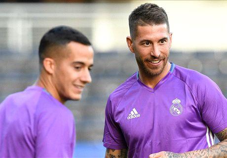 Bale y Ramos vuelven con el grupo