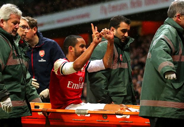 Walcott has the score, a Toffee spanking & Lambert gets his wish: The FA Cup third round in pictures