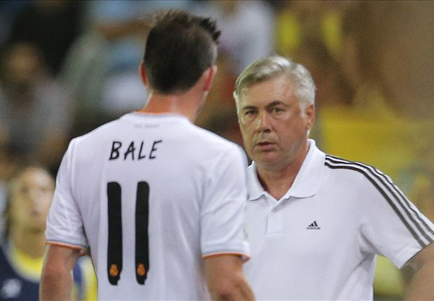 Ancelotti won't risk Bale against Athletic Bilbao