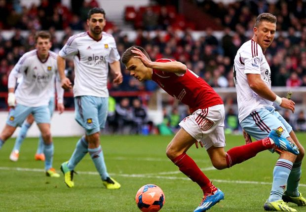 Nottingham Forest 5-0 West Ham: Woeful Hammers suffer embarrassing FA Cup exit