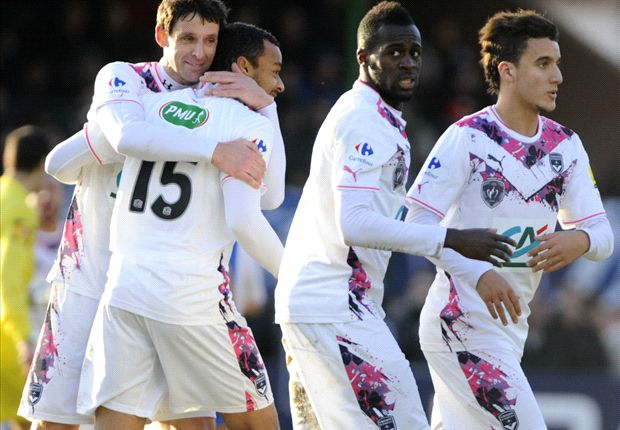 Les Girondins de Bordeaux accèdent aux 16e de finale