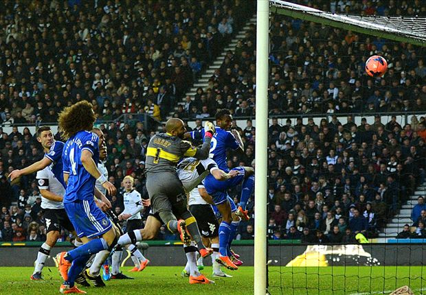 Derby 0-2 Chelsea: Mikel & Oscar fire Blues through