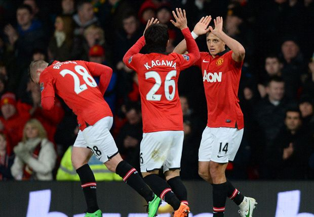 Chicharito scores as Manchester United is ousted from FA Cup
