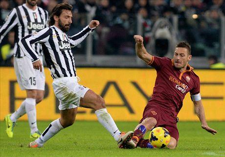 Juventus y Roma se juegan el liderato
