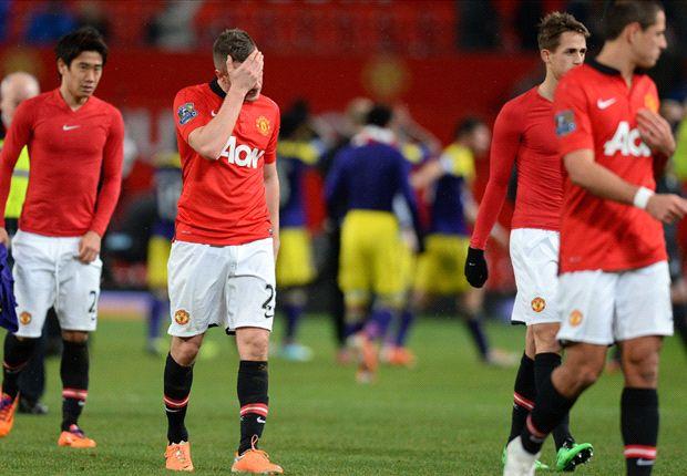 Manchester United ist mit zwei Niederlagen ins neue Jahr gestartet