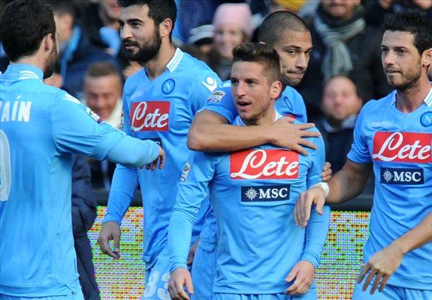 Serie A: Mertens glänzt für Neapel, Kaka für Milan - Florenz siegt knapp