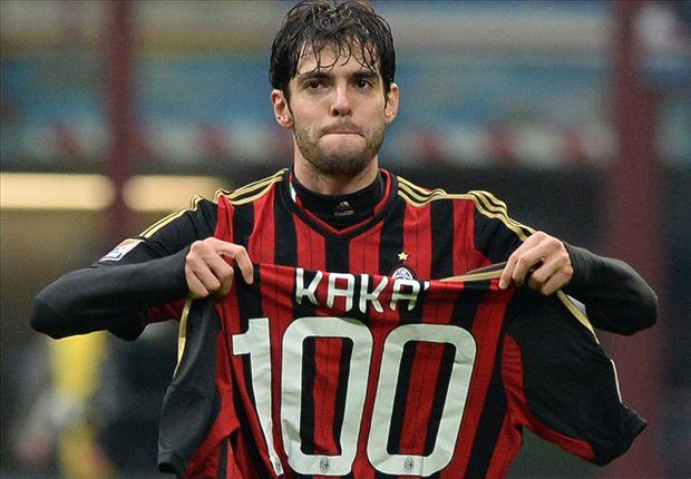 Kaka proud to make AC Milan history