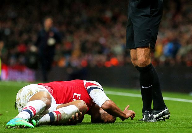 Nicholas: Walcott injury could cost Arsenal the title
