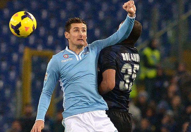 Lazio 1-0 Inter: Klose gives Reja joyous Rome return