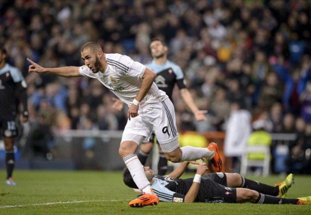 El Real Madrid se enfrentó ante el Celta en la 18ª jornada de la Liga BBVA