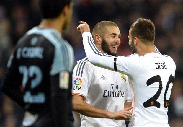 Real Madrid jubelt über den Erfolg