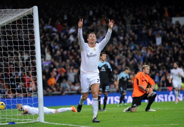 Real Madrid 3-0 Celta: Ronaldo double sees Blancos' year start with a bang