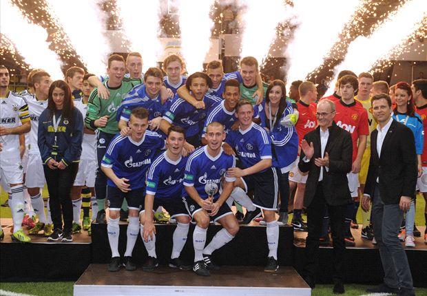 Schalke 04 konnten als einzige Mannschaft alle Spiele des JuniorCups gewinnen