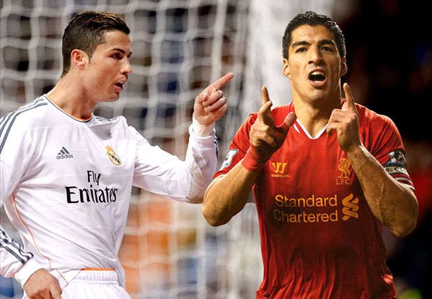 Suarez moves clear of Ronaldo in European Golden Shoe race
