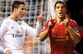 Ronaldo and Suarez joint Golden Shoe winners
