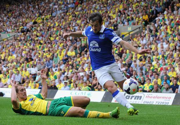 Baines back but Distin and Jagielka sidelined, reveals Martinez