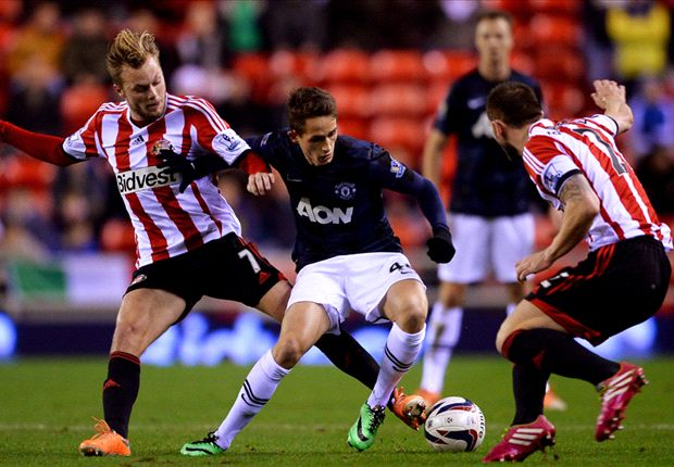 Januzaj ran rings around the Sunderland defence.