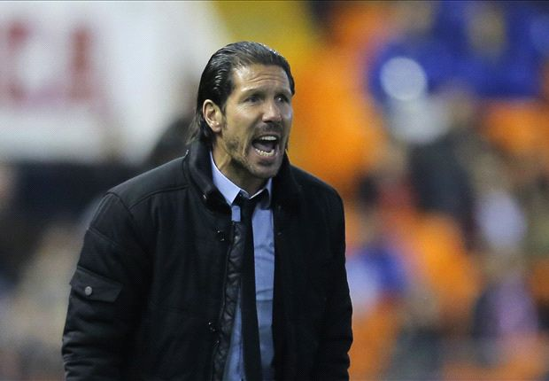 Simeone: Valencia tie is 50/50