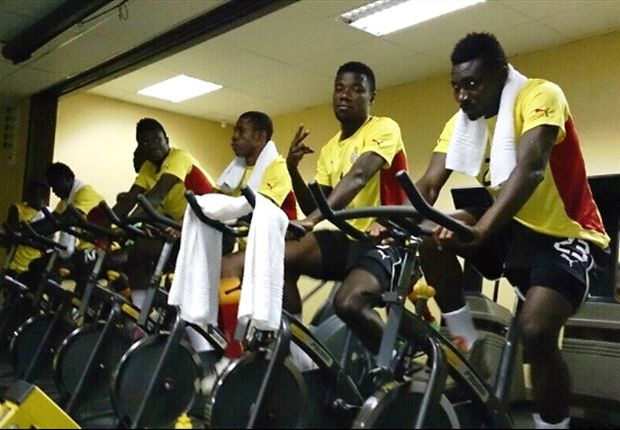 Local Black Stars at the gym