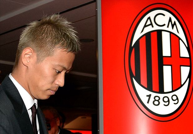 Honda dreaming of Champions League glory with Milan