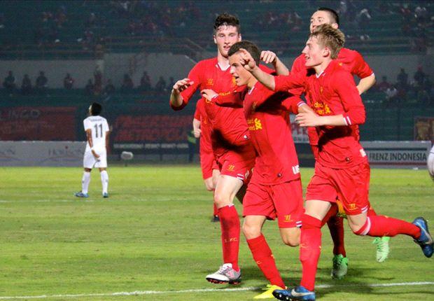 Liverpool U-17 memuji semangat Frenz United Indonesia untuk mencetak dua gol