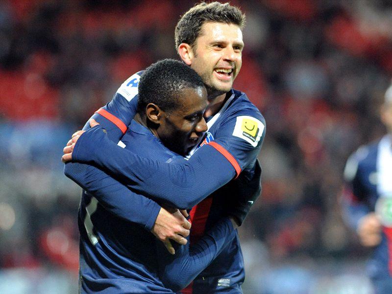PSG-Bordeaux, Matuidi et Motta titulaires