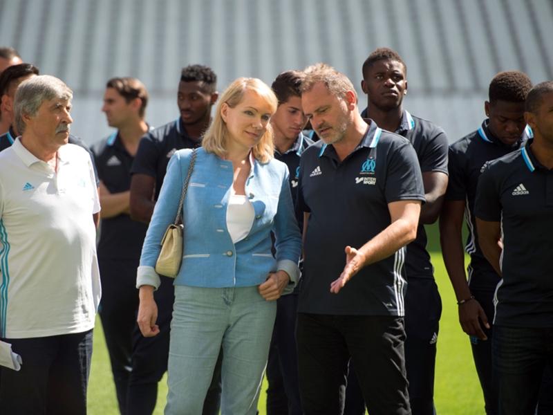 "Olympique de Marseille, Gunter Jacob : ""Passi savait que ce ne serait pas facile"""
