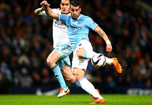 Negredo enjoying Manchester City partnership with Dzeko