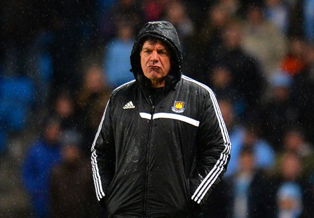 West Ham boss Allardyce accepts job is on the line