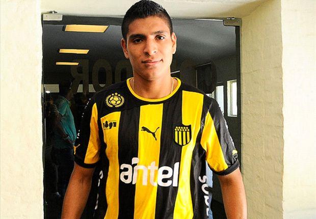 Hurtado jugará en Peñarol por seis meses a préstamos