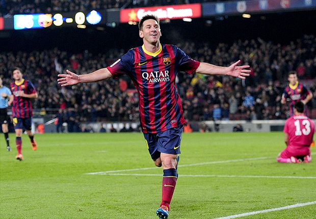 Barcelona 4-0 Getafe: Marvellous Messi scores twice on return