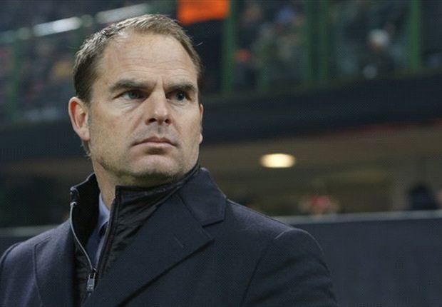 'De Boer gooit elftal om tegen Feyenoord'