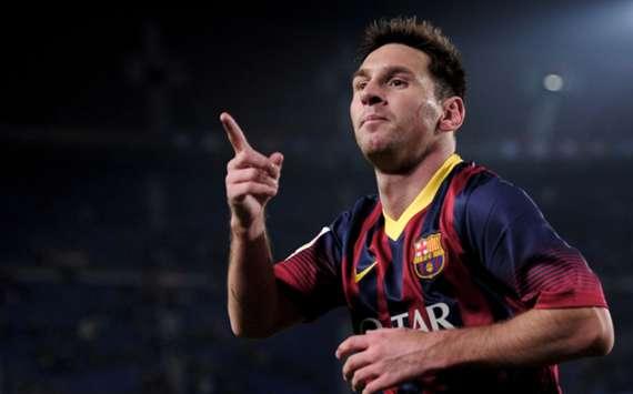 Barcelona attacker Lionel Messi