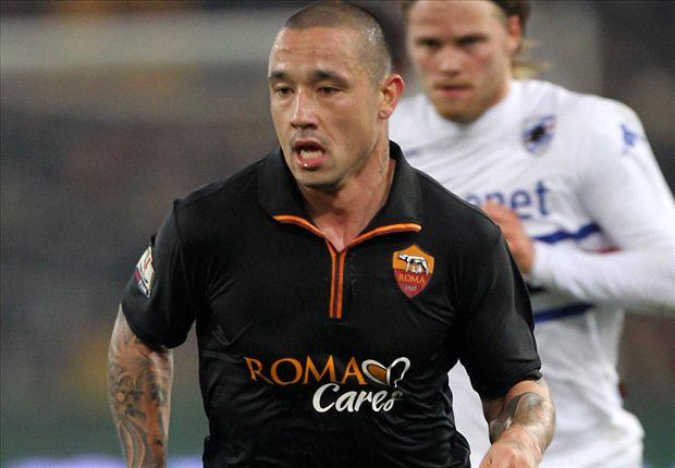 Nainggolan enjoys winning debut for Roma