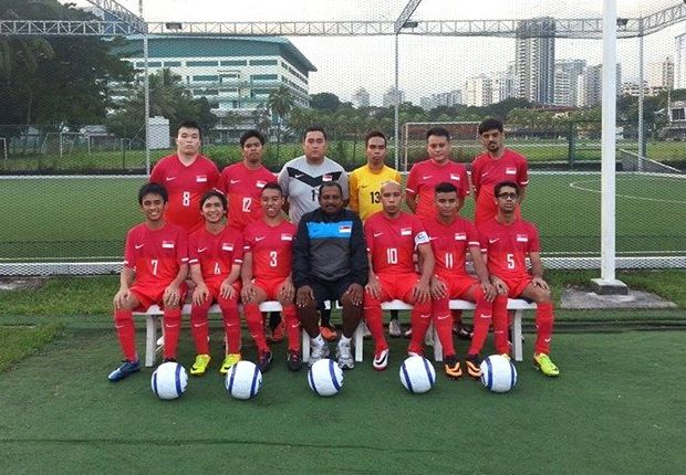 The Singapore Cerebral Palsy side are ready and raring to go in Myanmar.
