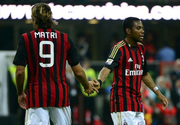 Robinho y Matri, a un paso de salir del Milan