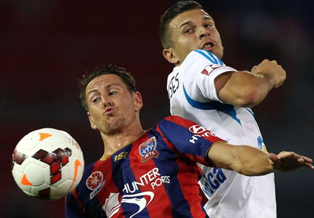 Newcastle Jets 1-1 Melbourne Victory: Honours even at Hunter Stadium