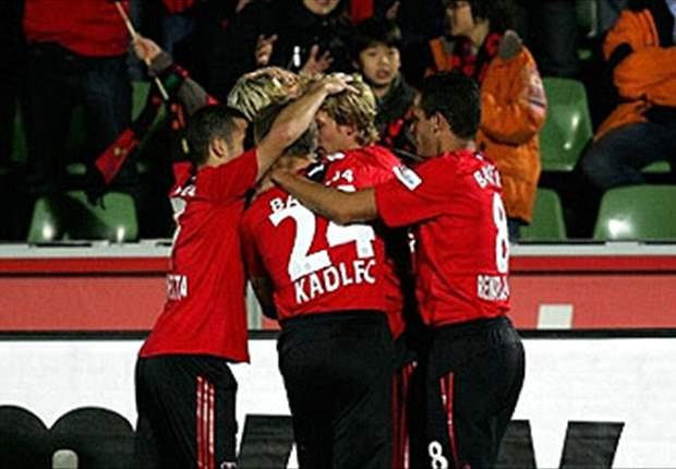 Bayer Leverkusen 2-0 Hannover: Werkself Win Comfortably As Ballack Returns To Starting Eleven