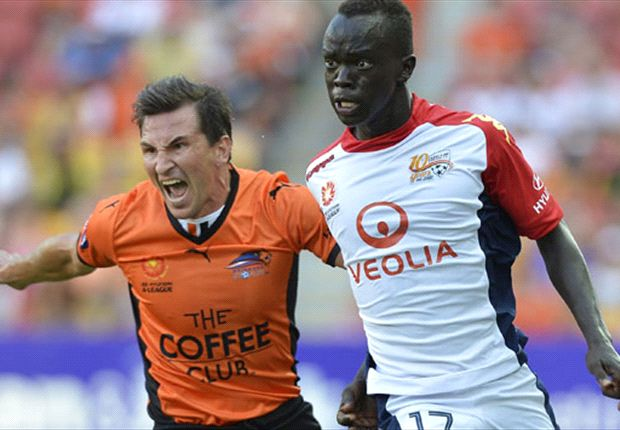 Brisbane Roar 1-2 Adelaide United: Reds snatch upset win