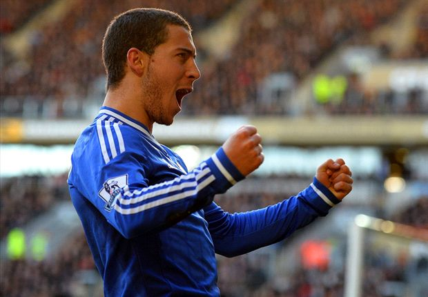 Hazard aims to challenge Ronaldo and Messi