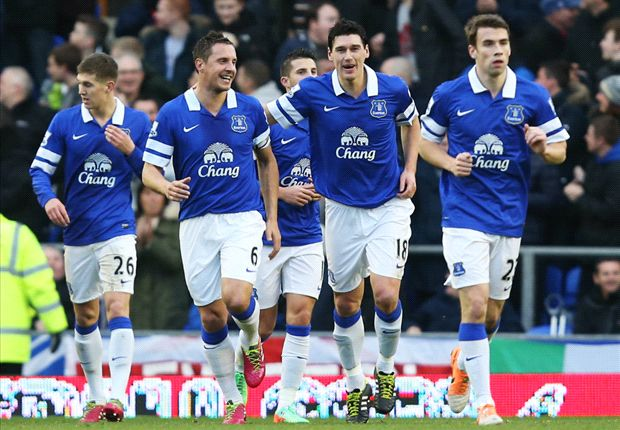 Everton 2-0 Norwich: Mirallas free-kick helps Toffees climb to fourth