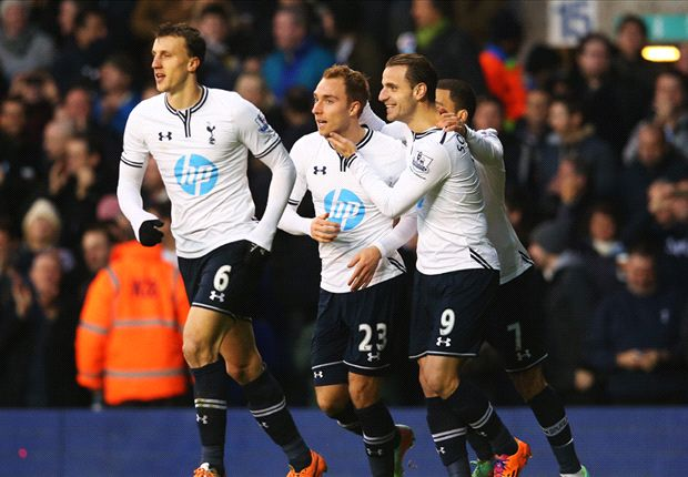 Tottenham 2-0 Crystal Palace: Eriksen & Defoe on target for hosts