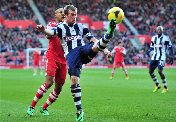 West Brom captain Brunt targets 'crucial' win against Fulham