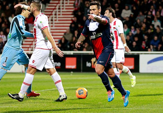 Ajaccio 1-2 Paris Saint-Germain: Lavezzi & Matuidi save Blanc's blushes