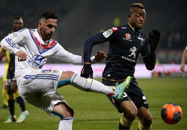 Jordan Ayew in action for Sochaux