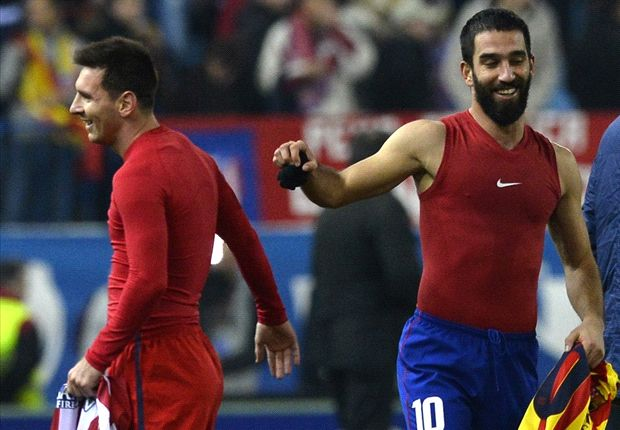 'He's an alien' - Arda Turan hails returning Messi