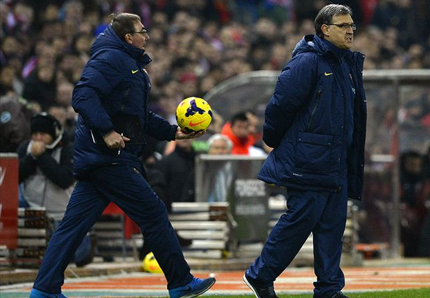 Martino: Barcelona will grow after Atletico draw