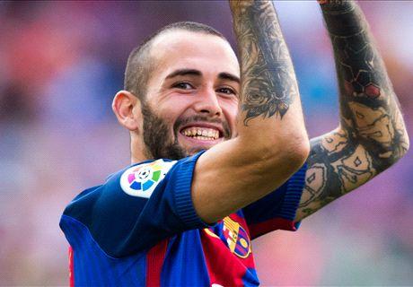 Aleix Vidal no se moverá del Barcelona