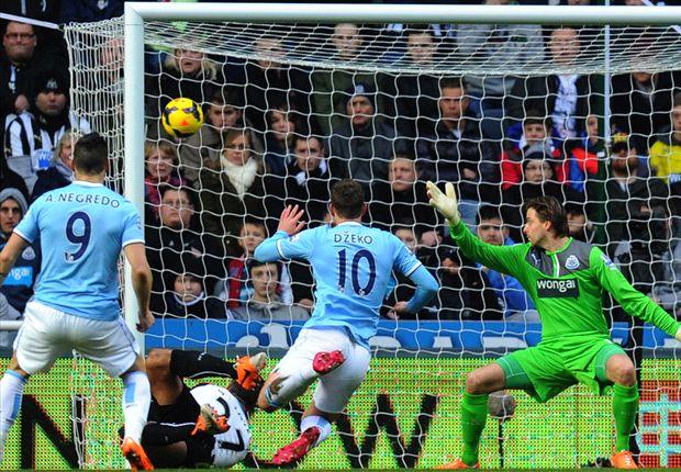 Permalukan Newcastle United, Manchester City Rebut Pucuk Klasemen